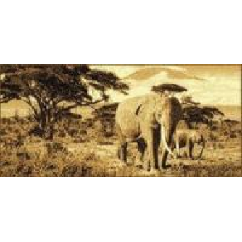 Dywan Makata Słonie beż