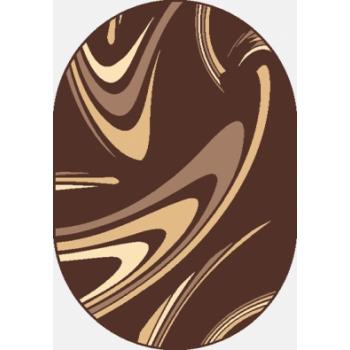 Dywan Weltom Karmel Coffee brąz owal